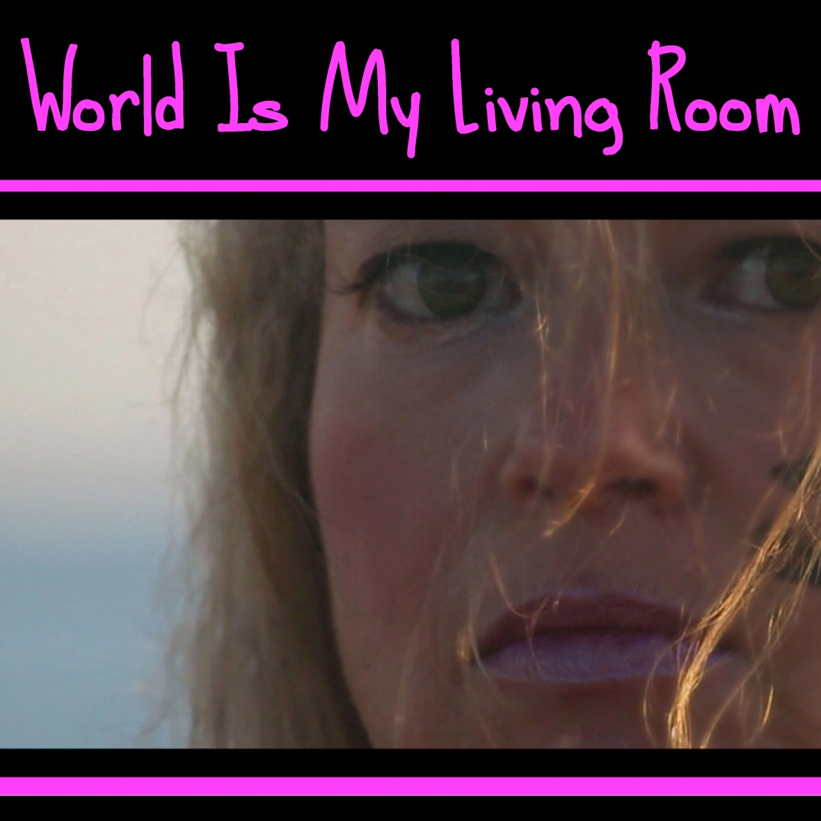 """Album Art from the song single  """"World Is My Living Room"""" ™© From Cali Lili's  Debut Album :  """"this female is not yet rated ™"""" Soundtrack to the motion picture :                                            """"eVe N'god this female is not yet rated ™"""" ©"""